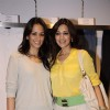 Sonali Bendre and Gayatri Joshi at Anita Dongre's Cafe Launch