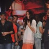 Nargis Fakhri promote 'Rockstar' at MMK college
