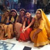 Cast on the sets of Pratigya