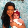 Aalika with baby on Pratigya set