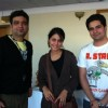 Hina Khan & Karan Mehra at BBC's office at London for an interview