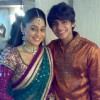 Soumya seth and Aayush Shah in tv show Navya
