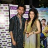 Chirag & Sagarika celebrate Diwali with their film 'Miley Naa Miley Hum' at Fame Cinemas in Andheri