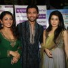 Chirag Paswan, Sagarika Ghatge and Neeru Bajwa celebrate Diwali with their film 'Miley Naa Miley Hum' at Fame Cinemas in Andheri, Mumbai
