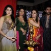 Kangna, Chirag, Sagarika and Neeru at Diwali celebrations to promote Miley Na Miley Hum at Fame