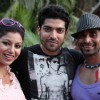 Gurmeet & Debina during World Cup