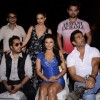 Suniel Shetty, Rakhi Sawant, Mika and Mimoh Chakraborty at Loot Diwali special shoot, Bandra