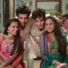 Cast of Ek Hazaaron Mein Meri Behna Hain celebrating Diwali
