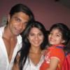 Karan Singh Grover and Jennifer Winget on the set of Dill Mill Gaye