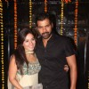 Shabbir Ahluwalia and Kanchi Kaul at Ekta Kapoor's Diwali Party