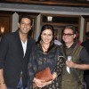 Vinay Pathak, Anup Soni and Juhi Babbar at the launch of Deepti Naval's book in Taj Land's End, Mumb