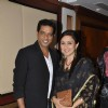 Anup Soni and Juhi Babbar at the launch of Deepti Naval's book in Taj Land's End, Mumbai