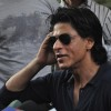 Shah Rukh Khan celebrates his 46th.Birthday with media at his bungalow Mannat