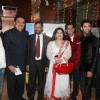 Raza Murad, Chirag and Anuj Saxena at premiere of 'Miley Naa Miley Hum' at Cinemax