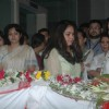 Tina Ambani at Bhupen Hazrika's pryaer meet at Kokilaben Hospital. .