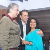 Aditya Raj Kapoor and Dharmendra at Parvez Lakdawala's party