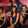 John Abraham, Deepika Padukone and Chitrangda Singh at Desi Boyz music launch at Enigma