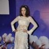 Aditi Gowitrikar walks for Tasneem Merchant at World Cotton Research Conference in Renaissance, Mumbai