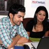 Gurmeet and Debina at the time of interview with Tellychakkar