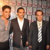 Akshay Kumar, Udita Goswami and Manoj Bajpai at Building Design Awards 2011