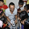 Rahul Bose celebrate Bandra book reading for kids at D'Monte Park