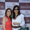 Sushmita Sen with Pooja Makhija's well being clinic 'NOURISH' launch in Bandra, Mumbai