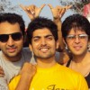 Gurmeet with his friends Vijay Bhatia