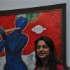 Juhi Chawla inaugurate Painting exhibhition by Bharat Tripathi at Museum Art Gallery