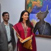 Juhi Chawla at Bharat Tripathi's art exhibition at Musuem Art Gallery. .