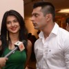 Jennifer Winget & Karan Singh Grover at Saas Bahu Aur Saazish Bash 2011