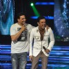 Akshay Kumar with Sumeet Raghavan on the sets of Star Ya Rockstar at Mahalaxmi