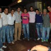 Bakhtiyaar Irani with his friends in his surprise party