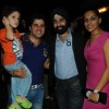 A D Singh and his wife with Bakhtiyaar surprise party