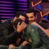 Akshay and John promote film �Desi Boyz� on the sets of Bigg Boss Season 5 with Salman