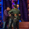 Akshay and John promote film �Desi Boyz� on the sets of Bigg Boss Season 5 with Salman and Sanjay