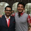 Vikas Khanna with co partner at MasterChef India 2