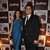 Sonali Bendre with her husband at launch of GoodFood Magazine