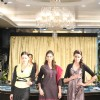 Models on the ramp at Jewellery brand 'Tanishq' new product range launch in Andheri, Mumbai