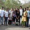 Soumya Seth and Shaheer Sheikh with their fans