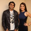 Anushka Sharma and Ranveer Singh at press meet of film 'Ladies vs Ricky Bahl' at Yashraj Studios in Mumbai