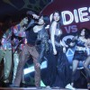 Anushka Sharma and Ranveer Singh dancing at press meet of film 'Ladies vs Ricky Bahl' at Yashraj Stu