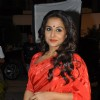 Vidya Balan on the sets of 'Bade Acche Laggte Hai' at Filmcity in Mumbai