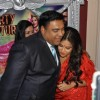 Vidya Balan with Ram Kapoor on the sets of 'Bade Acche Laggte Hai' at Filmcity in Mumbai