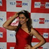 Deepika Padukone at 92.7 BIG FM Studios in Andheri, Mumbai