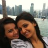 Shakti Mohan with Vandana in Singapore