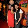 Gurmeet Choudhary & Debina Bonnerjee at the Zee Rishtey Awards