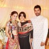 Ekta Kapoor at Shabbir Ahluwalia and Kanchi Kaul wedding ceremony