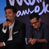 Director Karan Johar at their film 'Ek Main Aur Ekk Tu' first look launch at Hotel Taj Lands