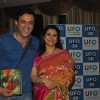Supriya Pilgaonkar and Sumeet Raghavan at music launch of Marathi UFO film 'Sharyat'