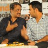 "Mahendra Singh Dhoni with director Y.P Singh at the music launch of film ""Kya Yahi Sach Hai"""